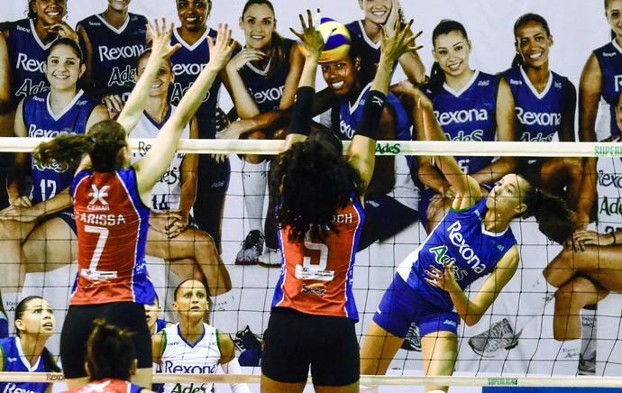 Rio de Janeiro X Maranhão Superliga de Vôlei (Foto: Glaucon Fernandes / Estadão Conteúdo )