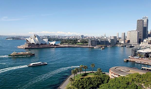 Baía de Sydney l Austrália, Sydney (Foto: Getty Images/iStockphoto)