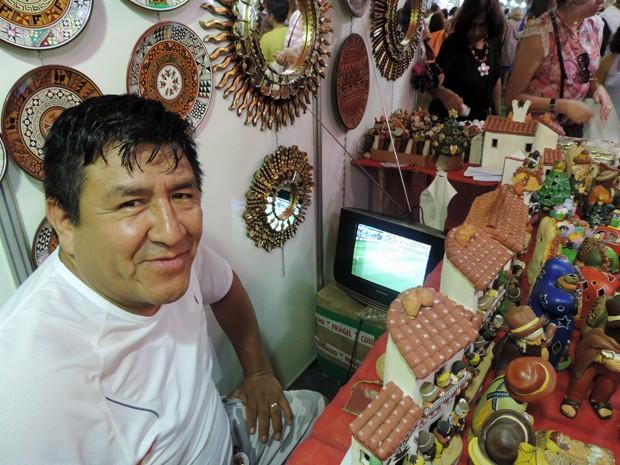 Feira Artesanato Olinda ~ G1 Em Olinda, estrangeiros dividem atenç u00e3o entre jogos e vendas em feira notícias em Pernambuco