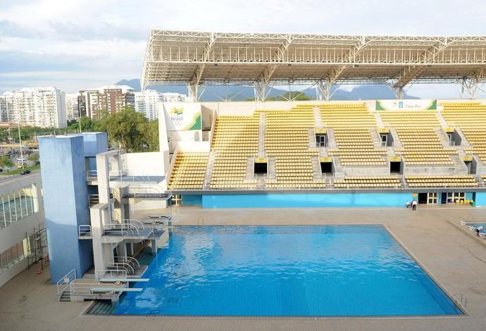 LEGADO DO PAN: Parque aquático Maria Lenk (Foto: Alexandre Durão / Globoesporte.com)
