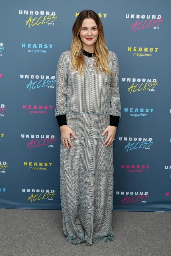 A atriz Drew Barrymore (Foto: Editora Globo)