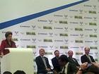 Dilma inaugura linha de montagem de super cargueiro em Gavião Peixoto