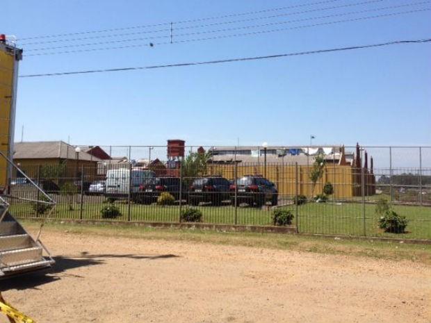 Rebelião na Penitenciária Industrial de Guarapuava (PIG) durou 48 horas (Foto: Fernando Parracho/RPC TV)