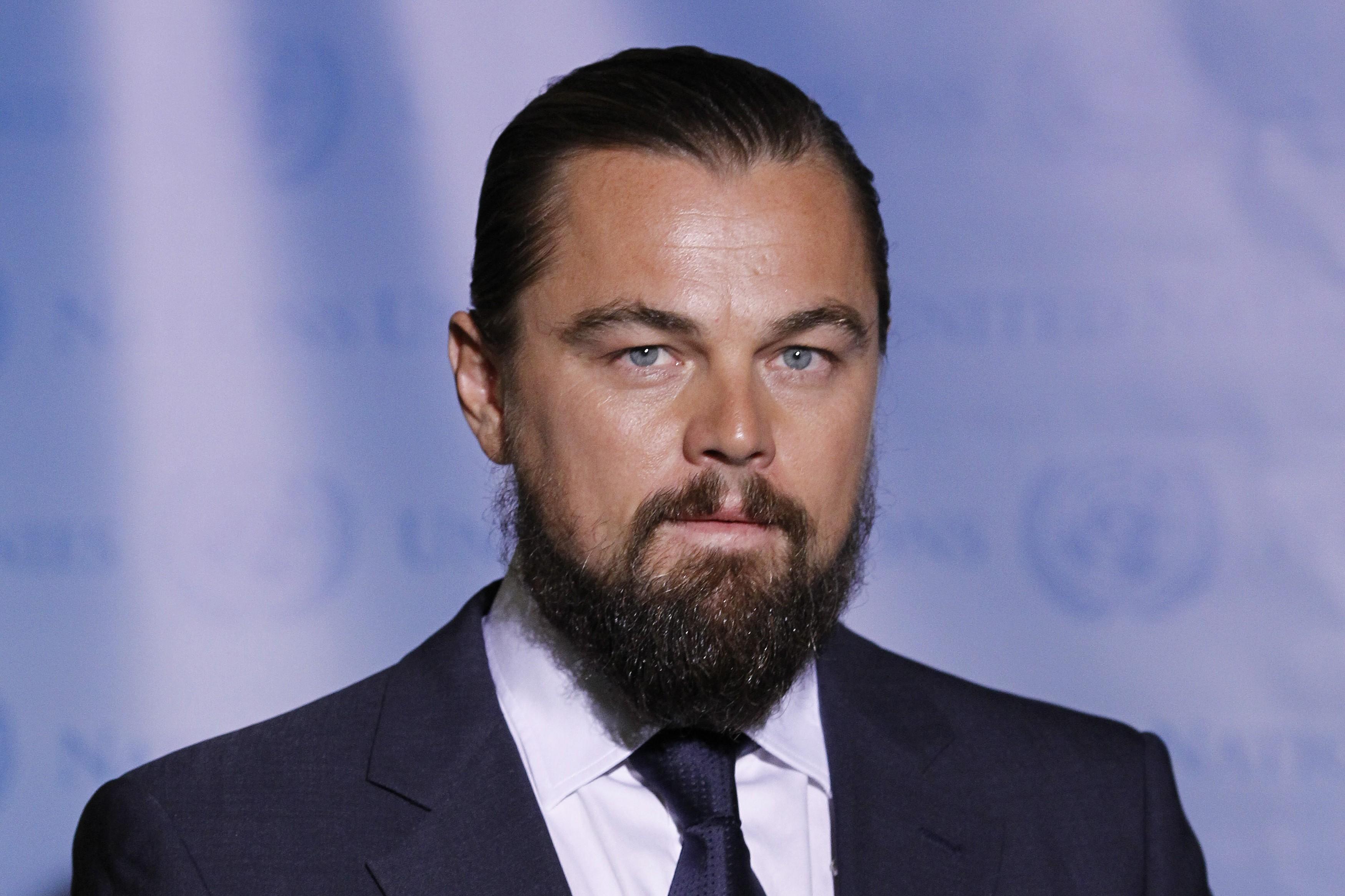 Na cena em que Leonardo DiCaprio esmaga um crânio com a mão em 'Django Livre!' o sangue na tela é realmente do ator. (Foto: Getty Images)