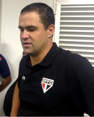 André Jardine, técnico do sub-20 do São Paulo, Copa SP (Foto: Marcus Vinícius Souza)