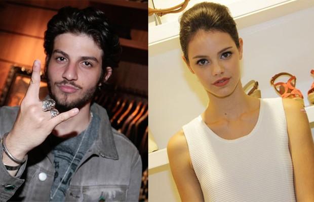 Chay Suede e Laura Neiva (Foto: Tv Globo)