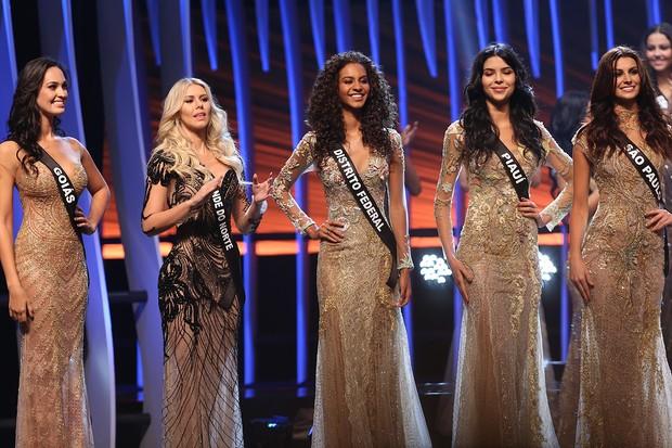 As quinze finalista do concurso Misso Brasil 2015 (Foto: Iwi Onodera/EGO)