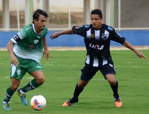 Felipe Moreira - Fábio Bahia - ABC x Alecrim (Foto: Frankie Marcone/Divulgação/ABC)