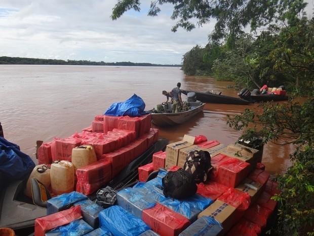 Operação Pleuza foi deflagrada na manhã desta terça-feira (12) em cidades do PR, SP e MS (Foto: Divulgação / PF)