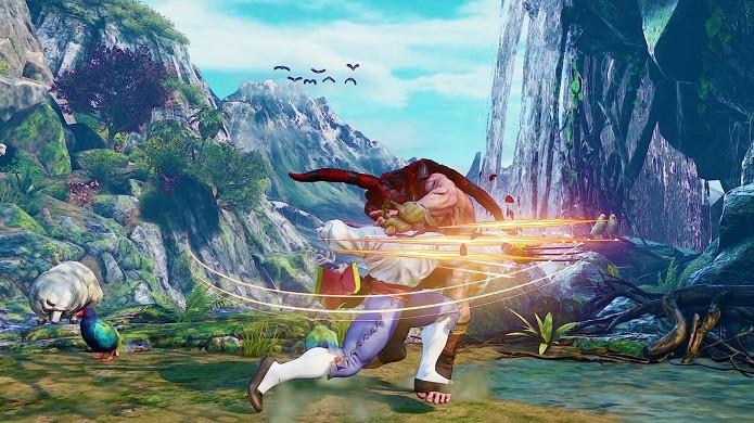 Ataque com garras é uma das marcas registradas de Vega (Foto: Divulgação/PlayStation Blog)