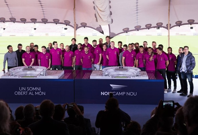 Barcelona apresenta projeto do novo Camp Nou (Foto: MIGUEL RUIZ/FCB)