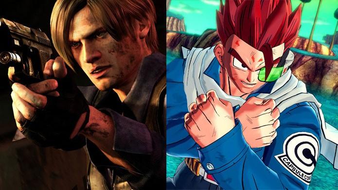 Dragon Ball e Resident Evil 6 em promoção nesta semana (Foto: Reprodução/Felipe Vinha)