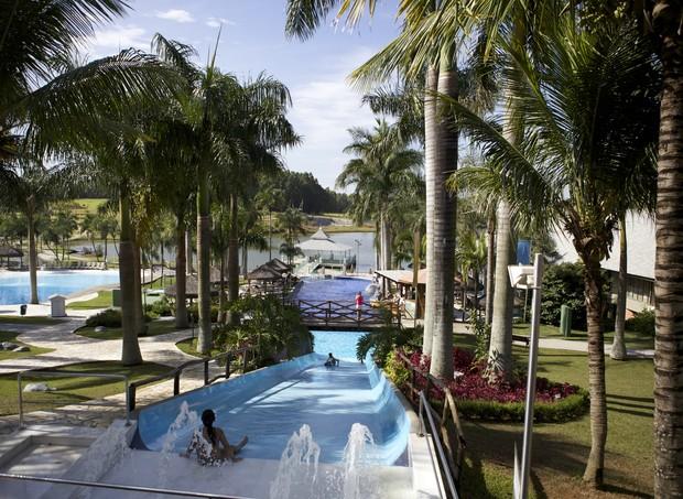 O Mavsa oferece um complexo de piscinas para os hóspedes (Foto: Divulgação)