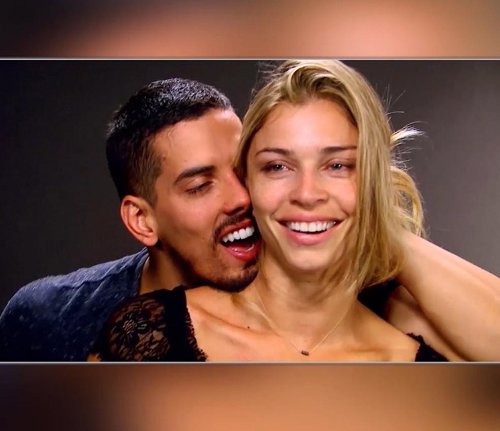 Oitavo episódio do Verdades Secretas.doc mostra teste de Grazi para o papel da modelo Larissa (Foto: TV Globo)