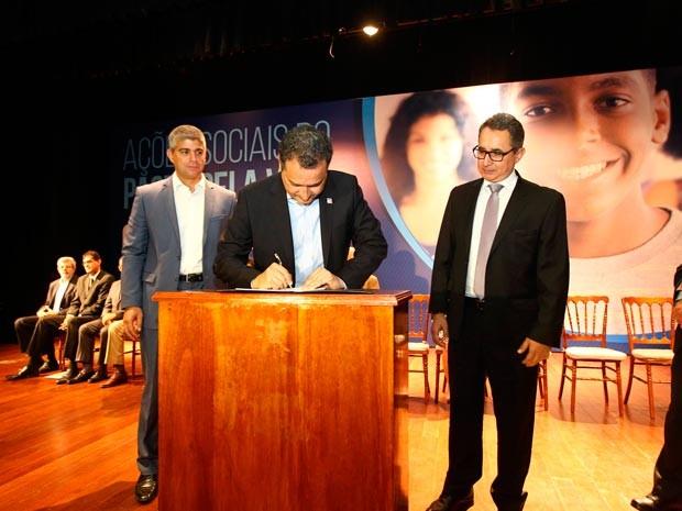 Novas ações do Programa Pacto Pela Vida são lançadas nesta quarta-feira (Foto: Carol Garcia/GOVBA)