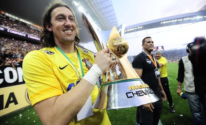 Cássio Corinthians (Foto: Marcos Ribolli)