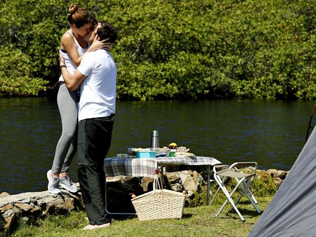Sequência é repleta de momentos românticos (Foto: Fábio Rocha/ Gshow)