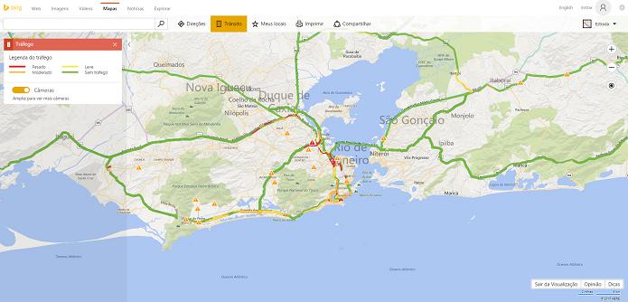 Bing Maps ganhou importante update (Foto: Reprodução/Thiago Barros)