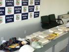 Operação policial no CE apreende 35 kg de drogas e prende quatro pessoas