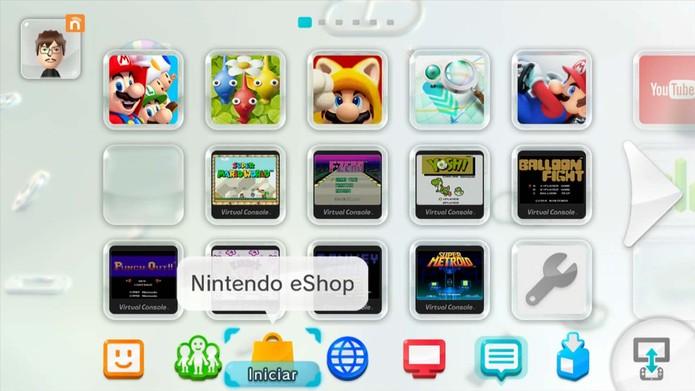 Nintendo Wii U: veja como comprar e baixar jogos no console (Foto: Reprodução/Murilo Molina)