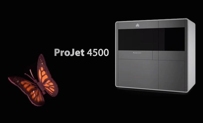 Impressora 3D que produz peças plásticas coloridas chega ao Brasil (Foto: Divulgação/3D System)