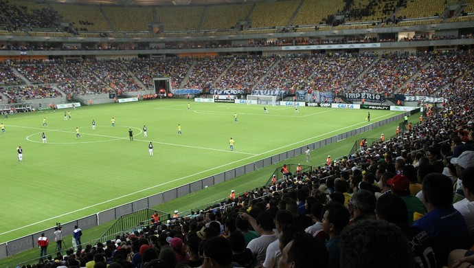 Arena da Amazônia inauguração (Foto: Isabella Pina)