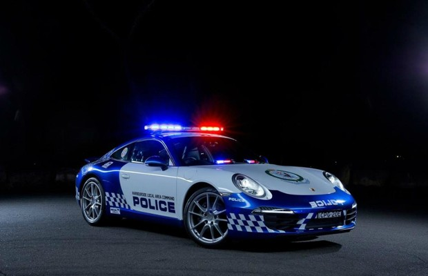 Porsche 911 Carrera da polícia de Nova Gales do Sul (Foto: Divulgação)