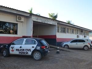 Caso foi levado à 1ª Delegacia de Polícia de Ji-Paraná (Foto: Samira Lima / G1)