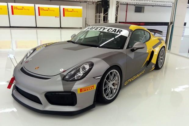 Porsche 911 GT3 Safety Car (Foto: Alexandre Izo/Autoesporte)