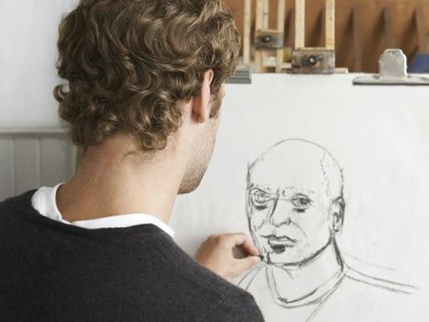 Já o terceiro grupo participou de aulas de arte, em que teve que desenhar um modelo nu (Foto: BBC/Thinkstock)
