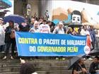 Governo do Rio propõe corte em programas sociais e alta de impostos