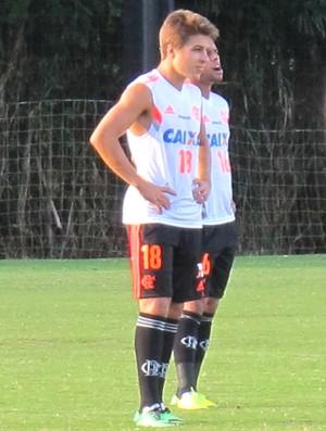 Igor Sartori Treino Flamengo (Foto: Thales Soares)