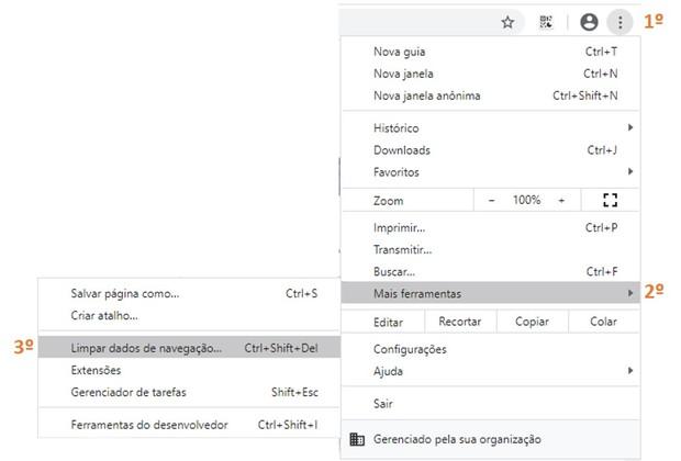 Limpar Chrome (Foto: Limpar Chrome)