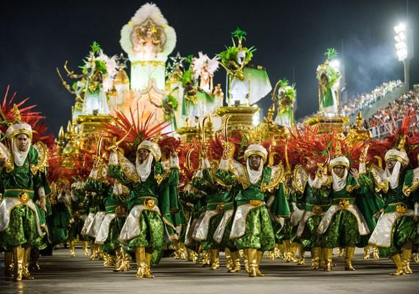 Desfile das Escolas de Samba do Rio de Janeiro em 2017 (Foto: Getty Images)