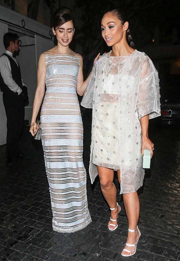 Lily Collins e Cara Santana (Foto: Getty Images)