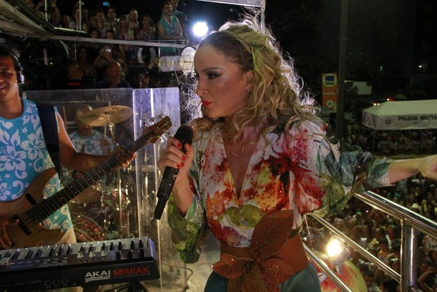 Claudia Leitte (Foto: Andre Muzell e Gabriel Rangel / AgNews)