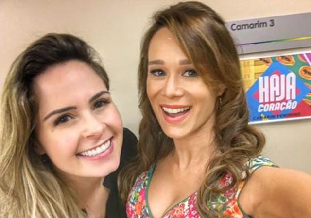 Ana Paula Renault  e Mariana Ximenes (Foto: Reprodução/Instagram)