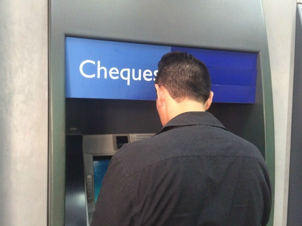Cliente reclama que depósito em casa lotérica tem limite de valor (Foto: Isabela Cavalcante/G1 MS)