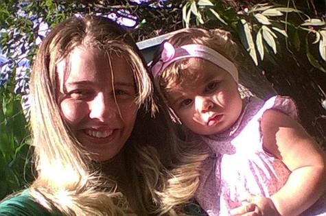 Duda, filha de Debby Lagranha (Foto: Arquivo pessoal)