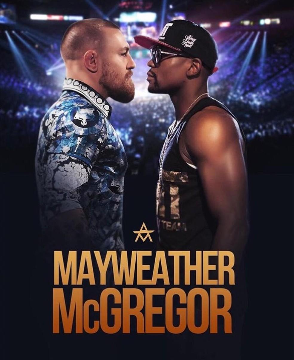 Mayweather x McGregor enfim vai acontecer (Foto: Reprodução)