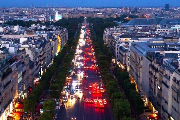 Trânsito de Paris (Foto: Thinkstock)