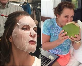 Brooke Shields completa 50 anos e continua como ícone de beleza entre as mulheres (Foto: Reprodução do Instagram)