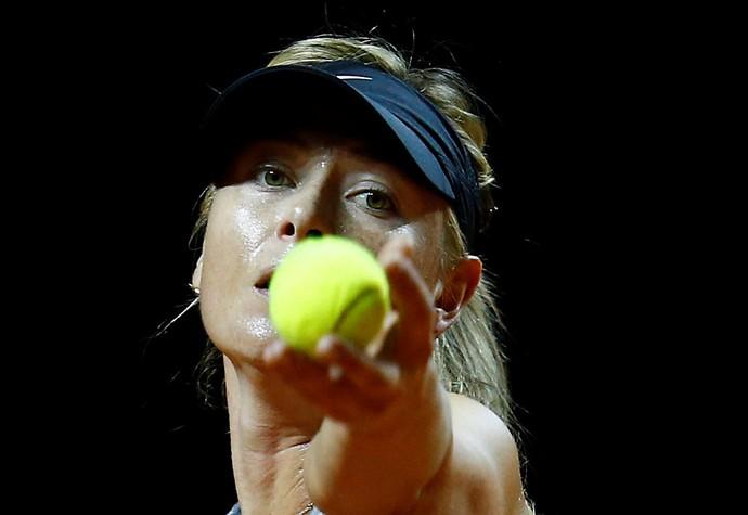 Sharapova volta a jogar depois de cumprir a suspensão por 15 meses por doping (Foto: Reuters)