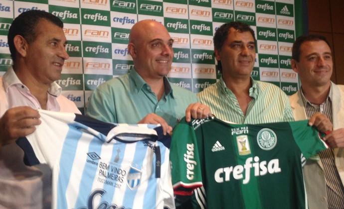 Mauricio Galliote PalmeirasTucumán (Foto: Rodrigo Faber)
