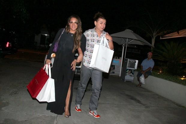 David Brazil no aniversário de Giovanna Antonelli no Rio (Foto: Delson Silva/ Ag. News)