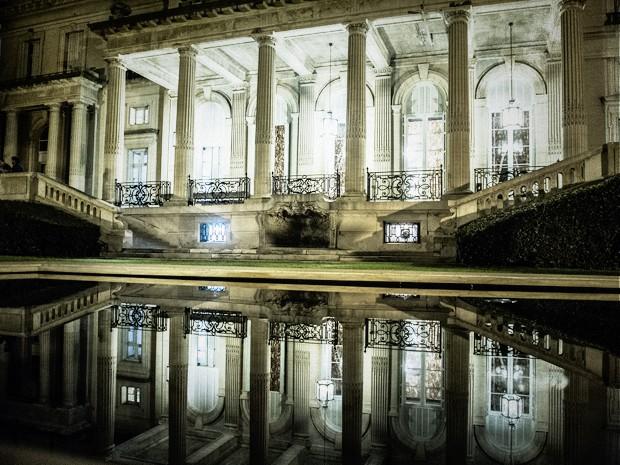 O palácio Sans Souci serviu de locação para a mansão de Angela Mahler (Foto: Estevam Avellar / TV GLOBO)
