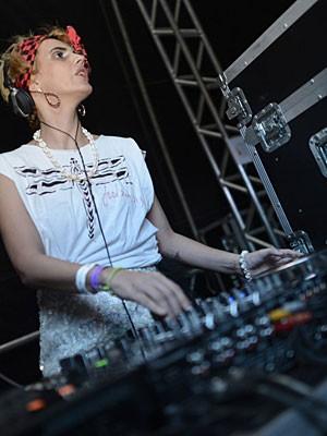 DJ Catarina Dee Jah (Foto: Luna Markman / G1)