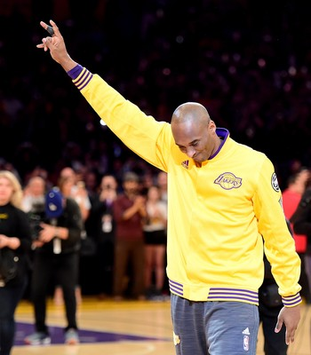 Kobe Bryant despedida NBA basquete Lakers (Foto: Getty Images)