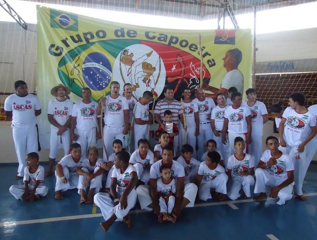 Encontro Regional de Capoeira em Canápolis, realizado em março pelo grupo de capoeira Semente da África (Foto: Divulgação)