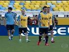 Espanha e Taiti treinam no Maracanã e Piqué visita comunidade no Rio